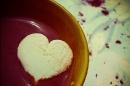 Day 7 – Rain, hot chocolate, marshmallow hearts