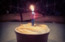 Day 97 – Happy Birthday minicake