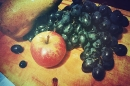Day 44 – Grapes, an apple and a pear